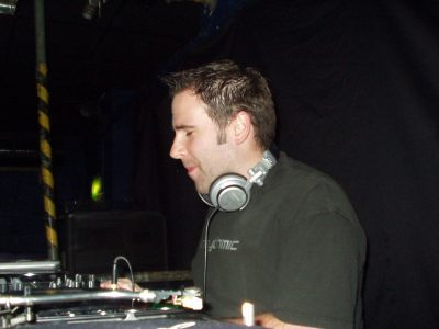 James Weston DJing in Oxford at The Bullingdon in August 2007.